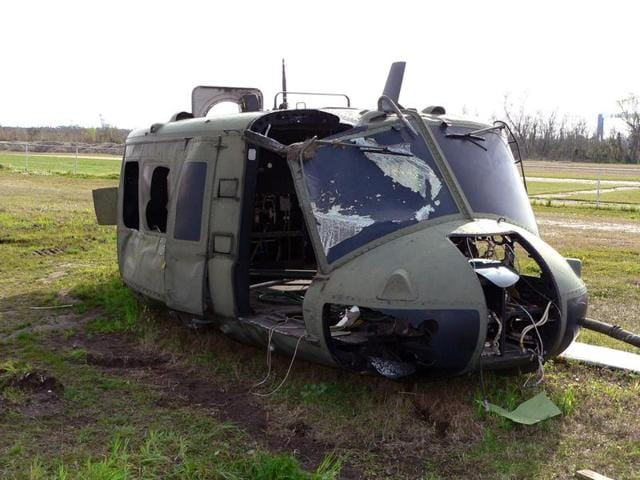 The helicopter went down in Logar province, near Afghanistan's border with Pakistan's lawless and mountainous tribal areas.