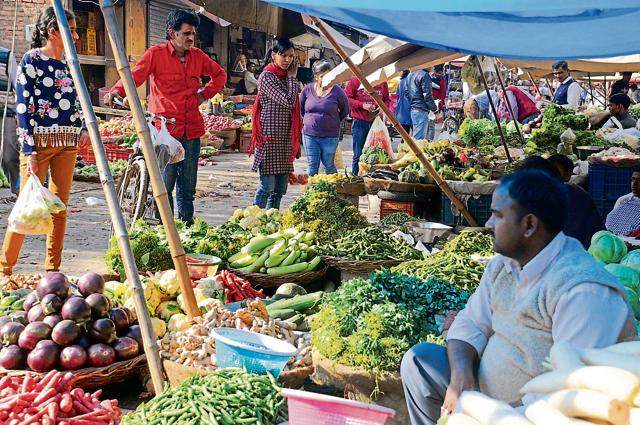 The vendor assaulted the children on the suspicion that they were stealing his vegetables.