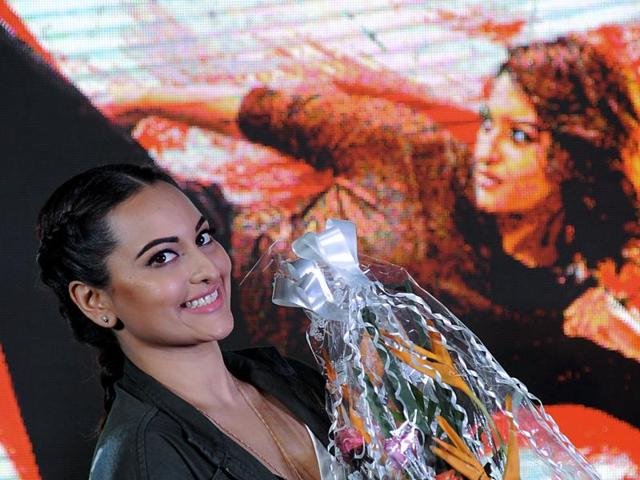 Sonakshi Sinha plays the lead role in A R Murugadoss's Akira.