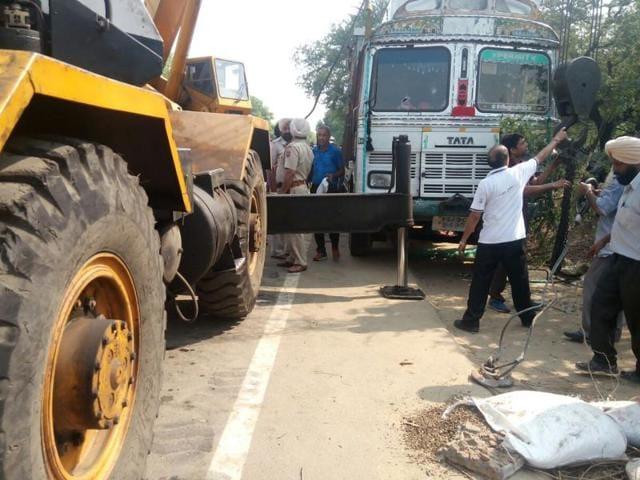 Kapurthala,accident,truck accident