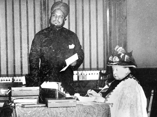 """""""Munshi"""" Abdul Karim taught Urdu and Hindi to Queen Victoria and advised her on Indian affairs."""