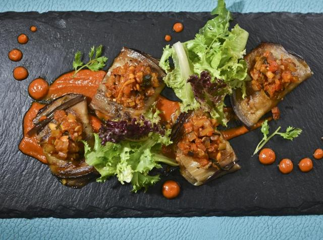 Owing to its intense, smoky flavour, aubergine has long been used as a substitute for meat by vegetarians and vegans