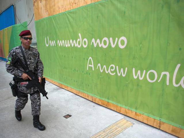 According to Rio's police, the fight took place in the western zone of Rio where the Olympic Park and athletes' village are located.