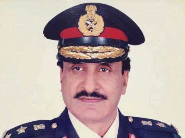 AAP candidate from Balachaur Brigadier (retired) Raj Kumar