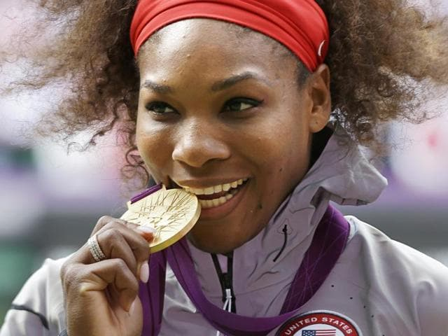 A file photo of American tennis player Serena Williams.