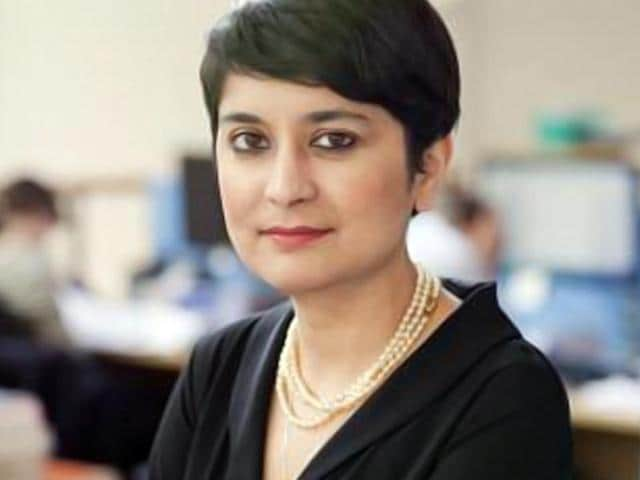 File photo of leading rights lawyer Shami Chakrabarti.