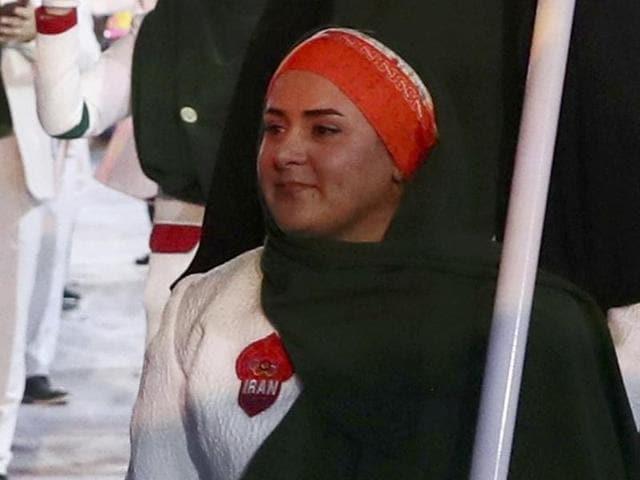 Rio 2016,Zahra Nemati,Iran
