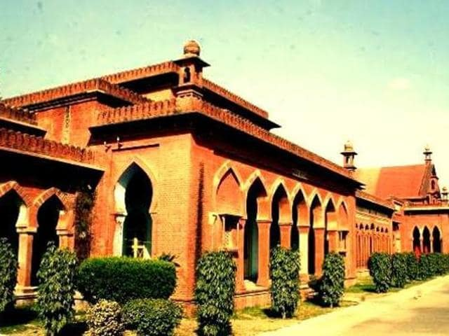 Aligarh Muslim University (Facebook). The appointment of  the university's vice chancellor, Zameeruddin Shah, has been challenged in the SC.