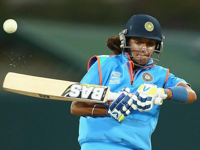 SCARBOROUGH, ENGLAND - AUGUST 23: Harmanpreet Kaur was due to make her debut in the Big Bash League between December and January, but national duty could delay that.