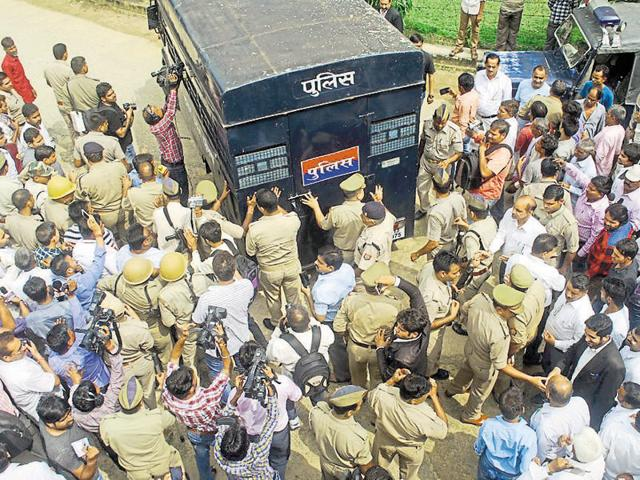 The police on Monday got a three-day remand for two of the three accused, Shavez and Jabar Singh from a Bulandshahr court.
