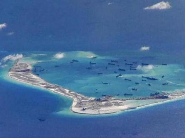 China refused to take part in the case taken by the Philippines to the Hague-based Permanent Court of Arbitration and continues to assert that islands in the South China Sea are its territory.