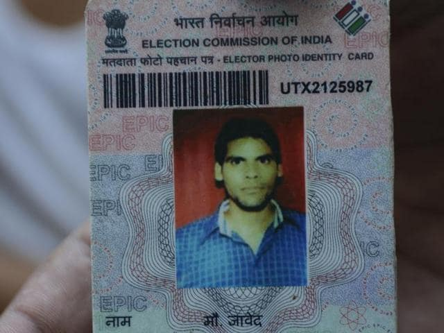 Shavez, one of the three arrested in the Bulandshahr gang rape, has a voter identity card in the name of Mohd  Javed from Dehpa village near Pilkhuwa.
