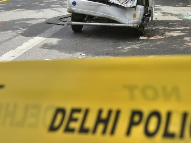 A six-year-old girl's head was severed when a speeding i20 car driven by the employee of a five-star hotel in Delhi ran over her in southwest Delhi's Kapashera area on Saturday morning.