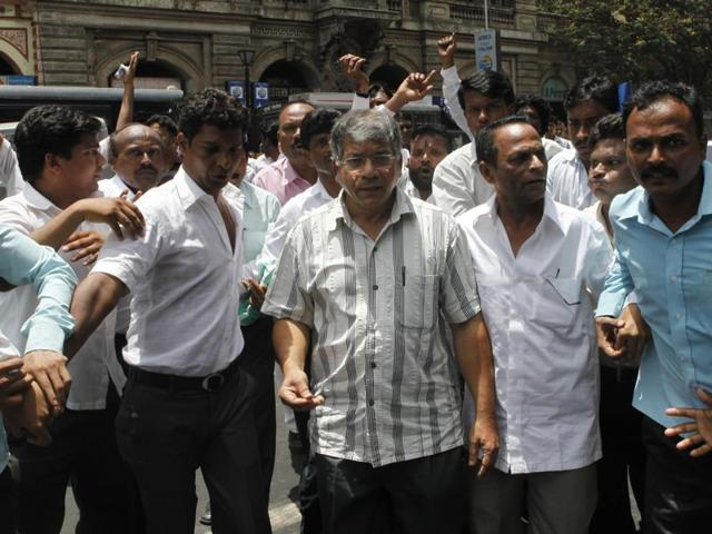 Prakash Ambedkar in Mumbai on June 01, 2012. The activist says the Dalit movement in India is getting stronger.