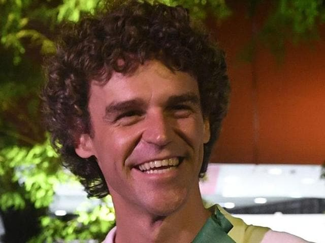 Former Brazilian tennis player Gustavo Kuerten is a three-time French Open champion.