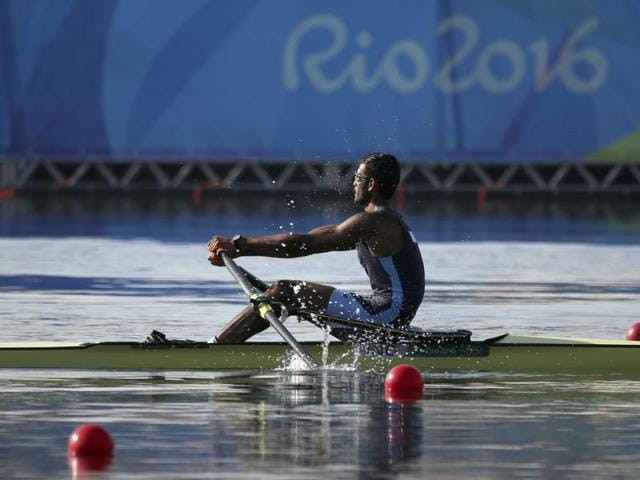 Indian rower Dattu Baban Bhokanal entered the quarterfinals of the Men's Single Sculls after finishing third in his qualifying round at the Rio Olympics here on Saturday.