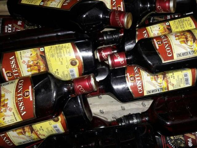 Government railway  police caught an army jawan travelling with 22 bottles of rum. A total prohibition was imposed in Bihar on April 5, making possession and consumption of liquor an offence under the new excise law.