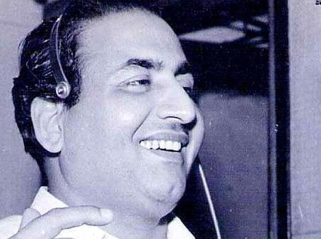 Rafi's singing talent was recognised by music director Ghulam Haider.