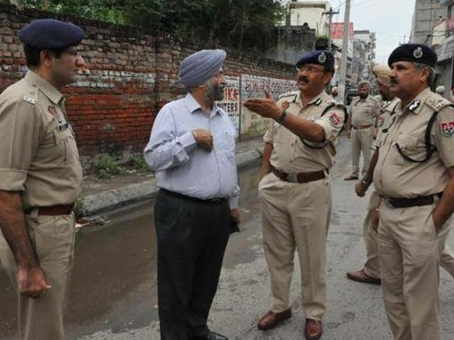 Heavy police has been deployed in Jalandhar since the attack.