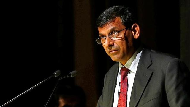 Reserve Bank of India (RBI) Governor Raghuram Rajan delivers a lecture at Tata Institute of Fundamental Research (TIFR) in Mumbai.
