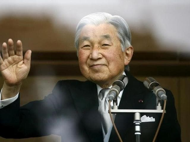 Japan's Emperor Akihito still works, though his aides have shifted some of his duties to crown prince Naruhito the elder of his two sons and most likely successor