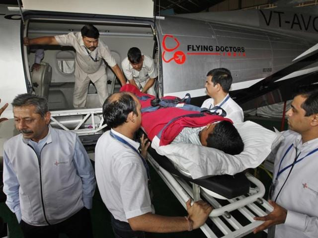 Medical evacuations (med-evacs) are not just in short supply but even those that offer services can't move patients at night because most airports do not have the facilities to land at night.