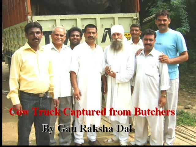 One such video uploaded by 'Gau Raksha Dal India', set to upbeat Punjabi music, shows 'gau rakshaks' beating up, blackening faces, whipping and kicking those allegedly caught smuggling cows and/of beef.