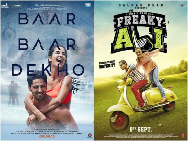 Both Baar Baar Dekho and Freaky Ali will hit the screens on September 9.