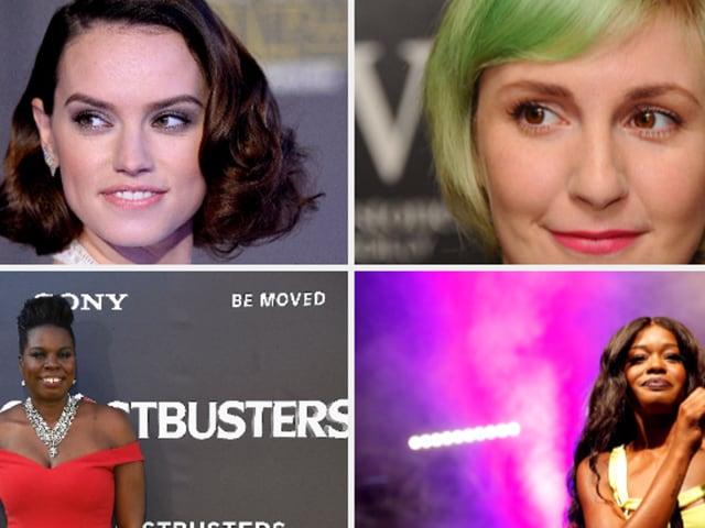 Daisy Ridley,Azelia Banks,Leslie Jones