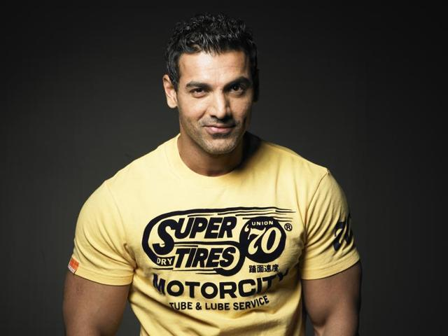 """John Abraham says he is """"never satisfied"""" with what he has achieved in his life and career."""
