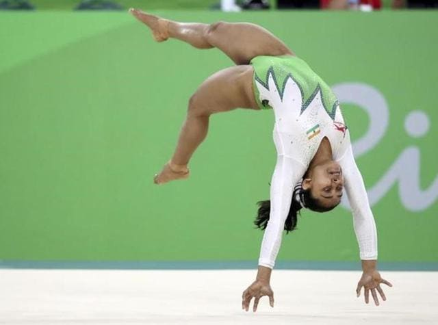 India's Dipa Karmakar created history on Sunday night when she became the first Indian woman gymnast to enter the vault final.