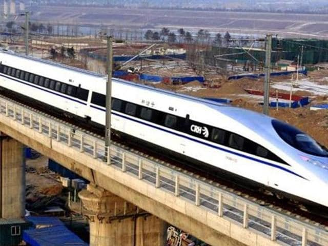 China has built about 16,000 kms of his speed train tracks connecting most of its top cities including the Beijing-Shanghai train which made a $1billion profit last year.