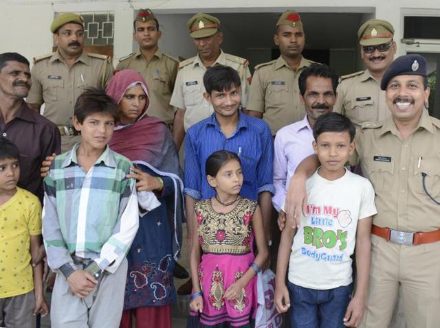 Ghaziabad police,Operation Muskan – 2,Operation smile