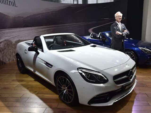File photo of Roland S Folger, managing Director & CEO Mercedes-Benz India. The German car maker has moved the Indian Supreme Court seeking lifting on diesel ban