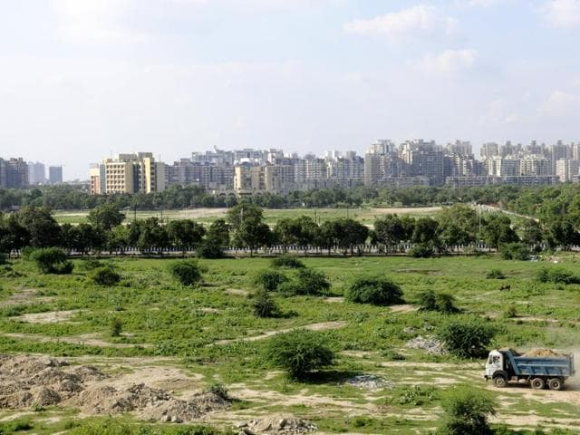 Noida Authority starts developing Dada-Dadi park, a shelter for old couples and orphaned children, in block B, Sector 62.