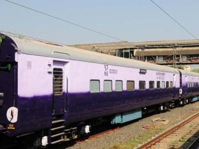 The train was carrying 228 trunks packed with Rs 342 crore in banknotes. The money weighed around 23 tonnes.