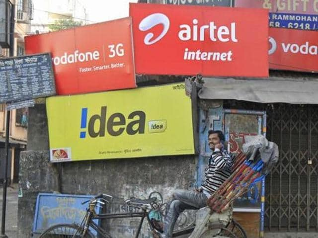 The CAG report tabled in Parliament says Reliance Communications, Tata Telecom, Vodafone, Airtel, Idea and Aircel had under reported their adjusted gross revenue by Rs 46,045.75 crore during the four fiscals from 2006-07 to 2009-10.