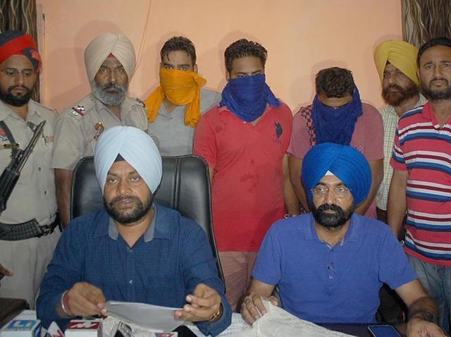 Amritsar,gangster,aides