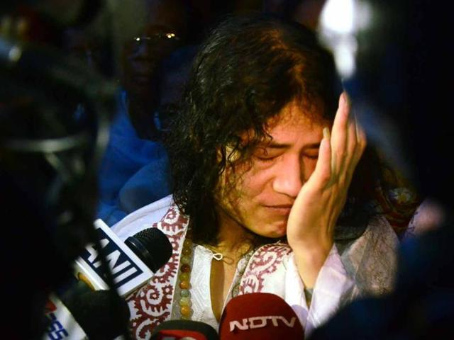 Irom Sharmila is expected to end her 16-year hunger strike against alleged army atrocities.(AFP File Photo)