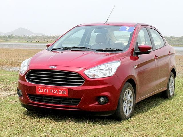 Ford slashed prices of its compact sedan Figo Aspire by up to Rs 91,000.