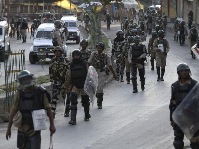 Curfew in Kashmir Valley