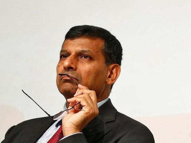 Reserve Bank of India (RBI) Governor Raghuram Rajan looks on before delivering a lecture in Mumbai in June , this year.