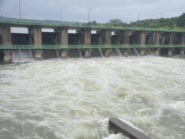 Tons river dam