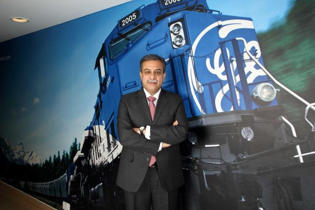 Banmali Agarwala, president and CEO of GE South Asia.