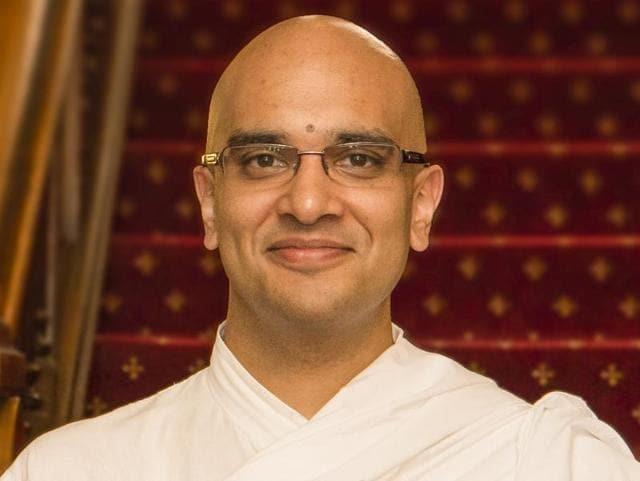 Brahmachari Vrajvihari Sharan joins the Georgetown University from the University of Edinburgh where he served as honorary Hindu Chaplain since 2010.