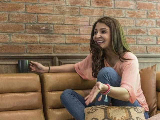 Anushka debuted in Bollywood opposite SRKin Rab Ne Bana Di Jodi. (HTPhoto)