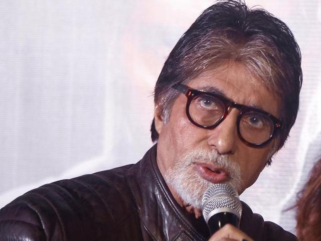 Amitabh Bachchan at the trailer launch of Pink in Mumbai.