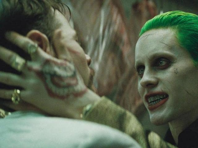 Jared Leto's Joker is not in the movie as much as we would have liked. But his presence hangs like a spectre..