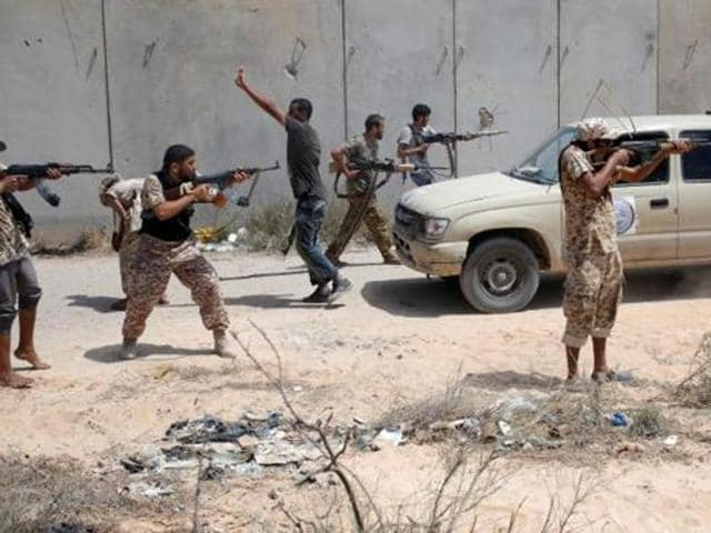 US-backed Libyan militias say they have taken over the Islamic State group's headquarters in Sirte.