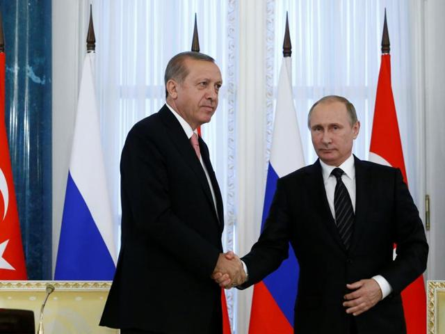 That Recep Tayyip Erdogan's first overseas visit after the failed coup on July 15 was to St Petersburg throws light on Turkey's deteriorating ties with the West